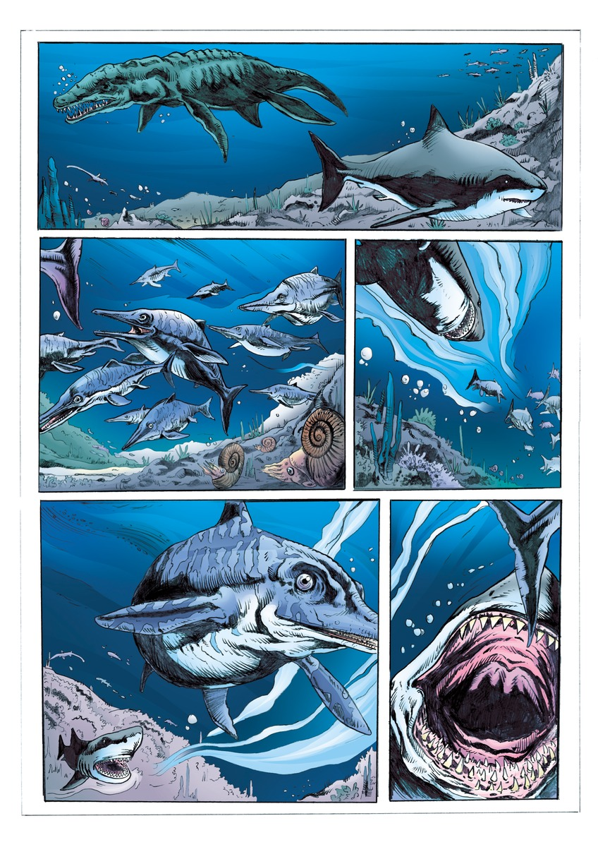 megalodon coloring pages  Coloring Pages